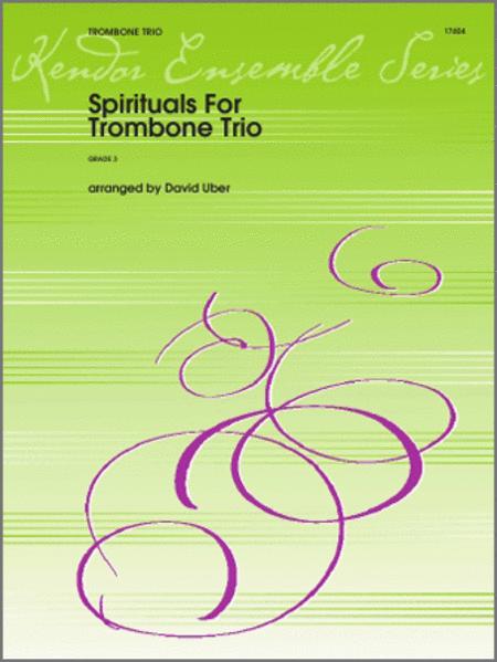 Spirituals For Trombone Trio