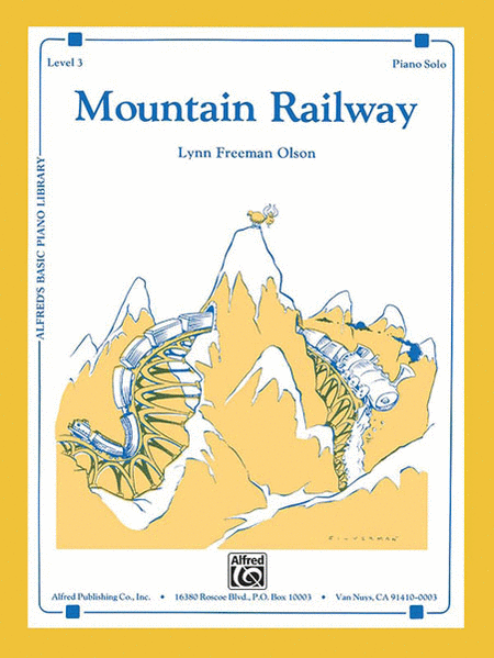 Alfred's Basic Piano Course Level 3 - Mountain Railway