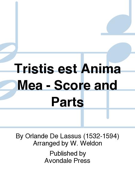 Tristis est Anima Mea - Score and Parts