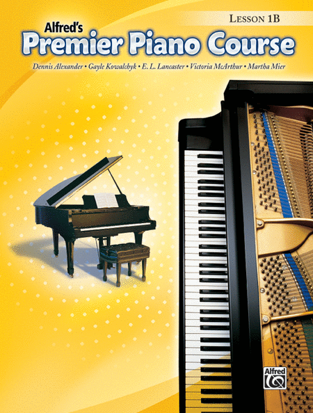 Alfred's Premier Piano Course: Lesson Book 1B