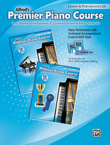 Alfred's Premier Piano Course: General MIDI Disks for Lesson and Performance 2A