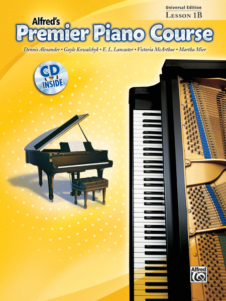 Alfred's Premier Piano Course - Level 1B Universal Edition (Lesson Book & CD)