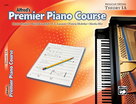 Alfred's Premier Piano Course: Universal Edition, Theory 1A