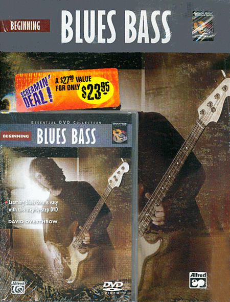 Beginning Blues Bass (Book and DVD)