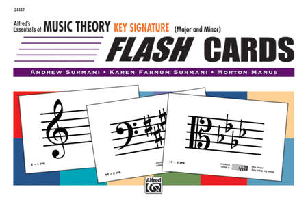 Essentials of Music Theory: Key Signature Flash Cards