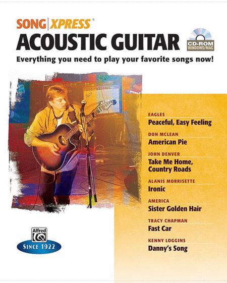 Songxpress CD-ROM - Acoustic Guitar