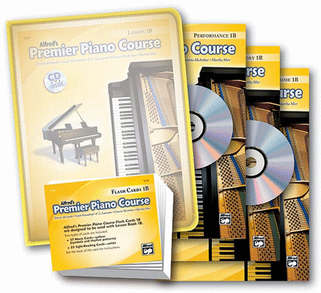 Alfred's Premier Piano Course Success Kit, Level 1B