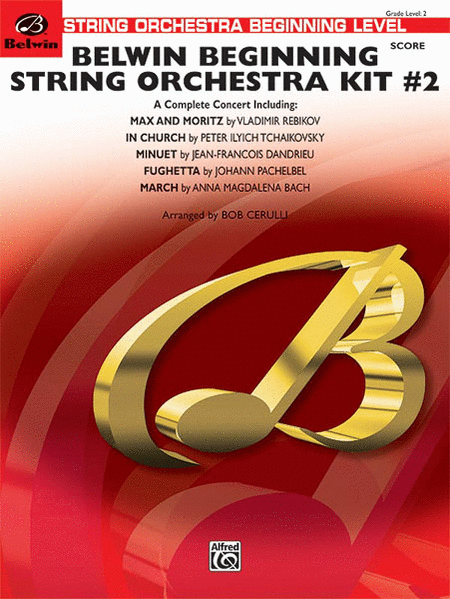 Belwin Beginning String Orchestra Kit #2