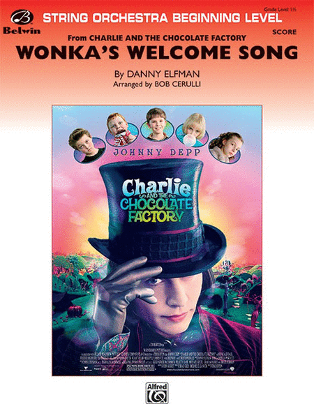 Wonka's Welcome Song