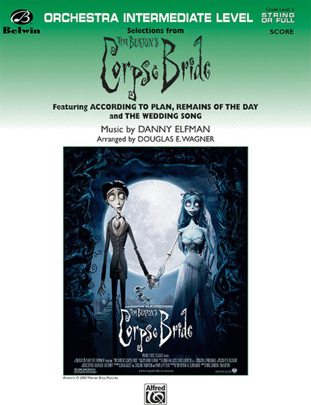 Selections form Tim Burton's Corpse Bride