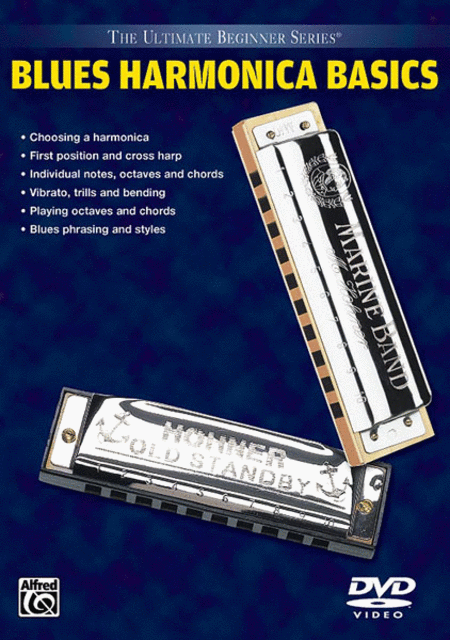 Ultimate Beginner Series Basics: Blues Harmonica Basics (DVD)