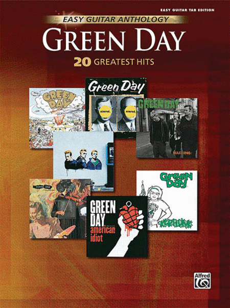 Green Day Easy Guitar Anthology (20 Greatest Hits) (Book)