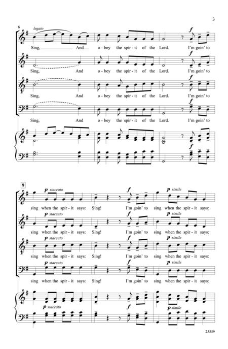 Singin' in the Spirit