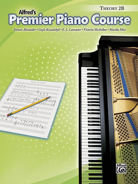 Alfred's Premier Piano Course: Theory Book 2B