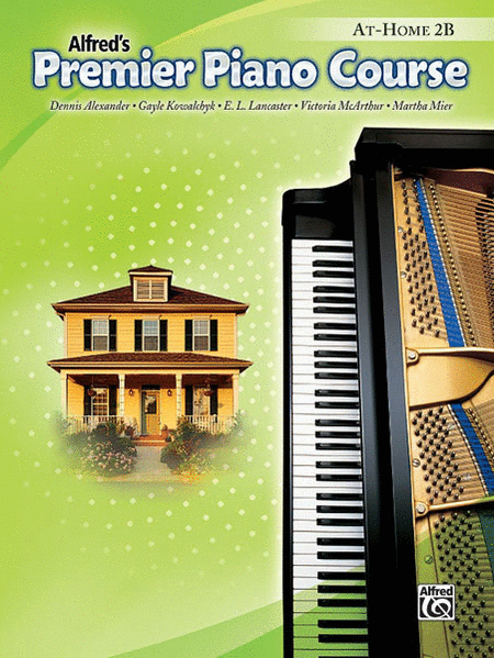 Alfred's Premier Piano Course: At-Home Book 2B