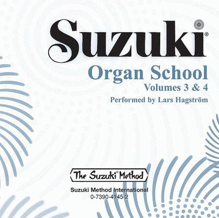 Suzuki Organ School, Volumes 3 & 4