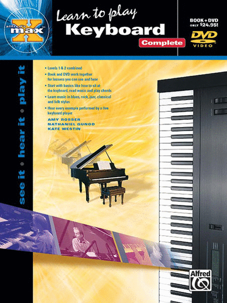 Alfred's Max: Learn to Play Keyboard Complete (Book and DVD)