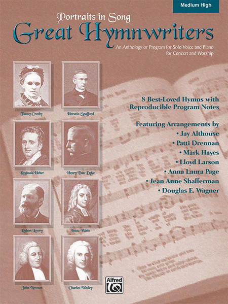 Great Hymnwriters (Portraits in Song) - Audio CD