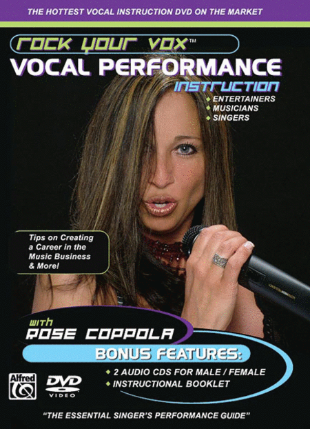 Rock Your Vox: Vocal Performance Instruction (DVD and 2 CDs)