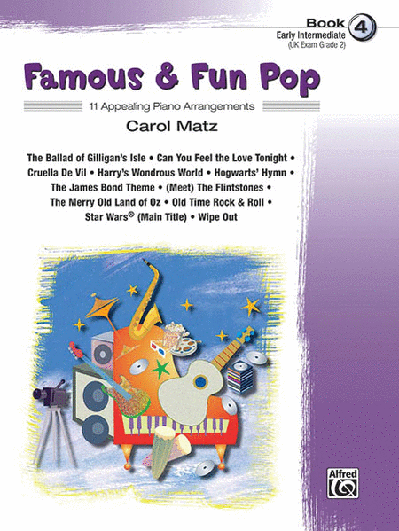 Famous & Fun Pop - Book 4