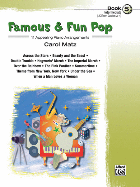Famous & Fun Pop - Book 5