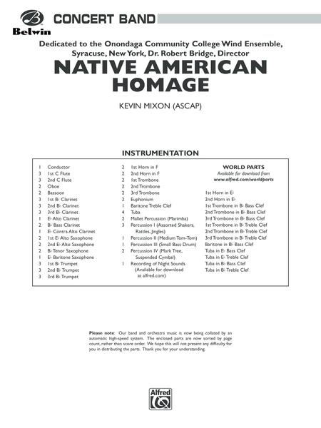 Native American Homage