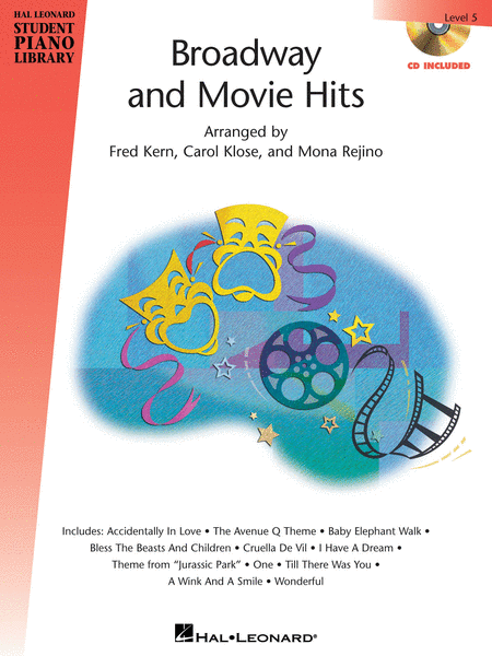 Broadway and Movie Hits - Level 5 - Book/CD Pack