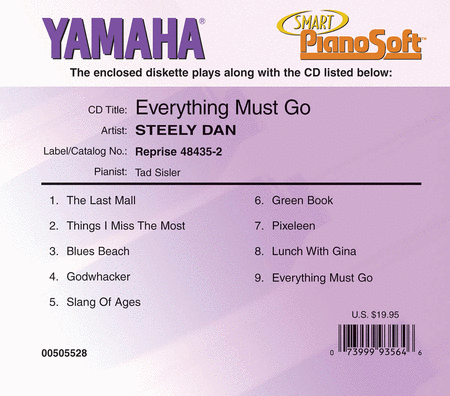 Steely Dan - Everhthing Must Go - Piano Software