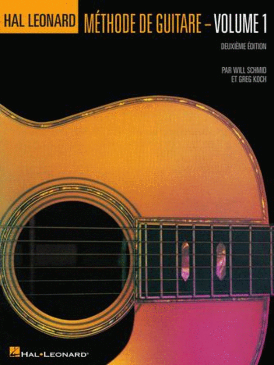 Hal Leonard Guitar Method Book 1 - 2nd Edition