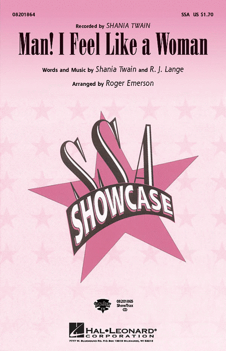 Man! I Feel Like a Woman - ShowTrax CD