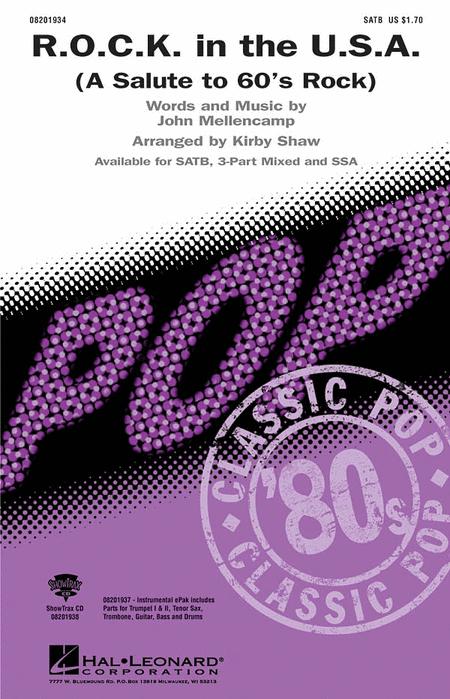 R.O.C.K. in the U.S.A. (A Salute to '60s Rock) - ShowTrax CD