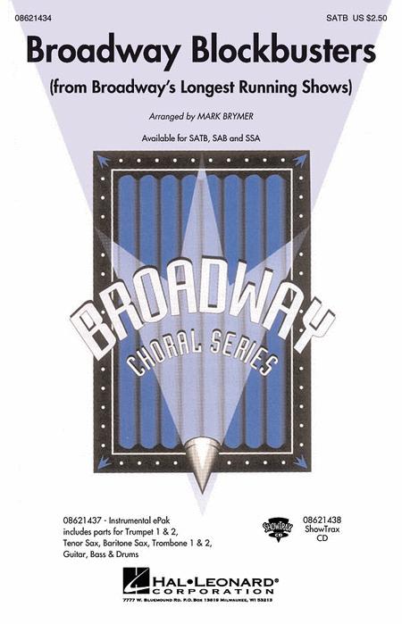 Broadway Blockbusters - ShowTrax CD