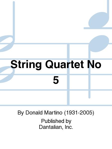 String Quartet No 5