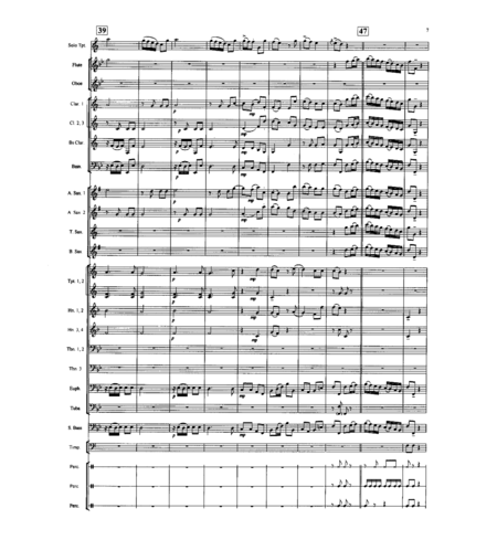 Allegro from Concerto for Trumpet