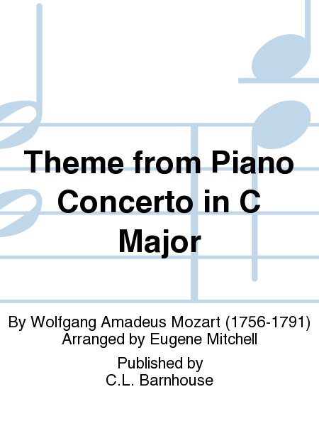 Theme from Piano Concerto in C Major