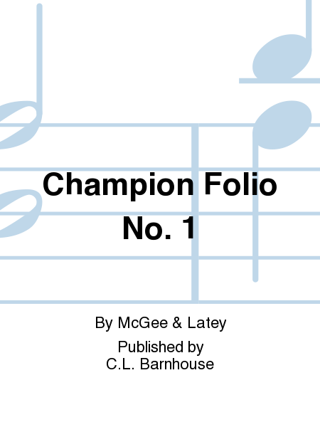 Champion Folio No. 1