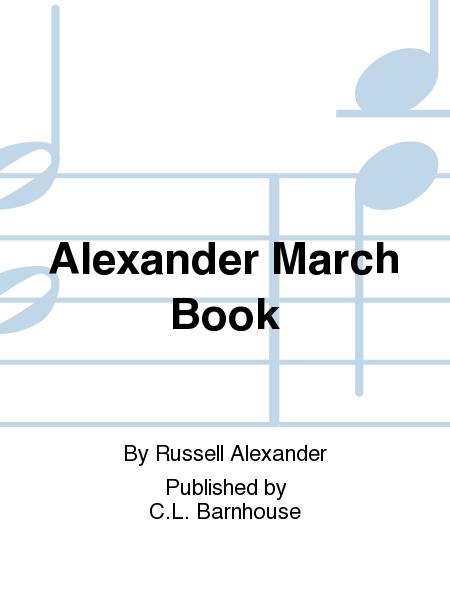Alexander March Book