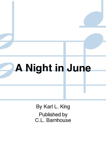 A Night in June