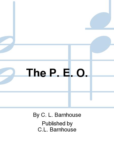 The P. E. O.