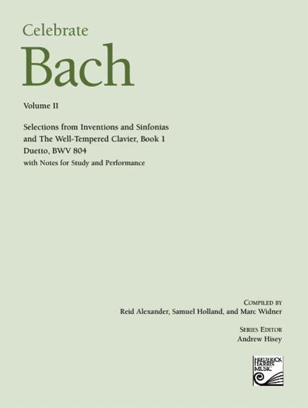 Celebrate Bach, Volume II