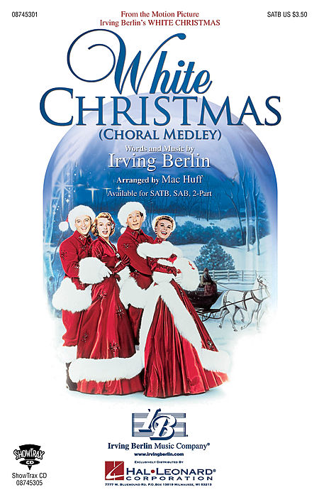 White Christmas (Choral Medley) - ShowTrax CD