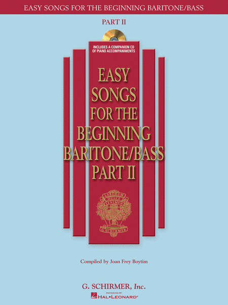 Easy Songs for the Beginning Baritone/Bass - Part II