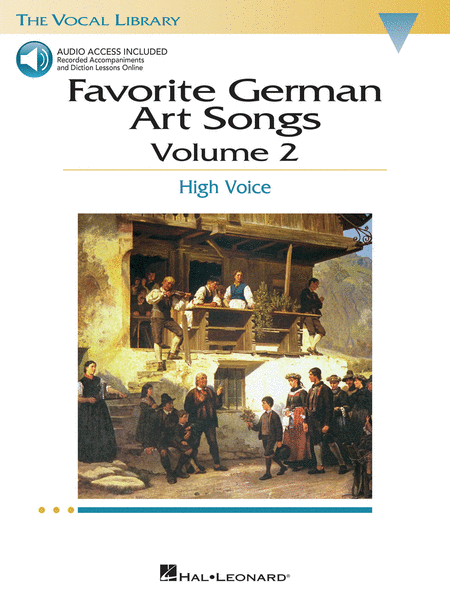 Favorite German Art Songs - Volume 2