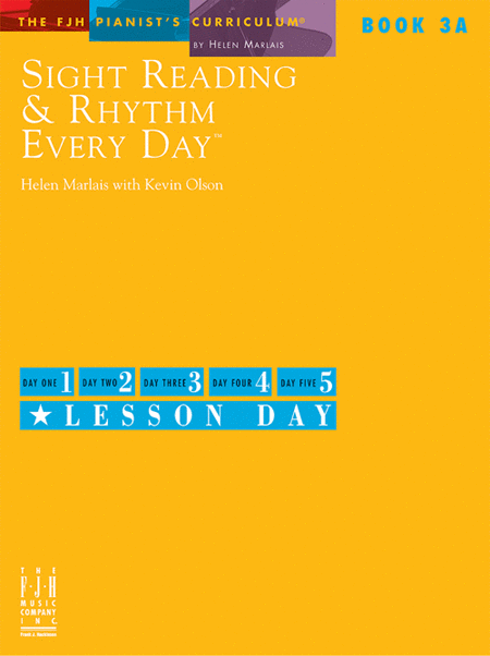 Sight Reading & Rhythm Every Day, Book 3A