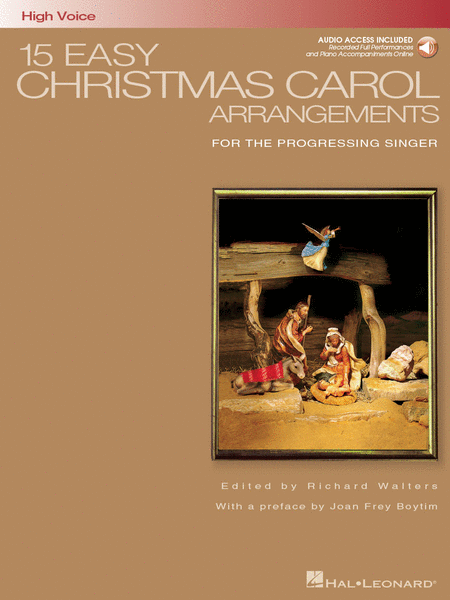 15 Easy Christmas Carol Arrangements - High Voice