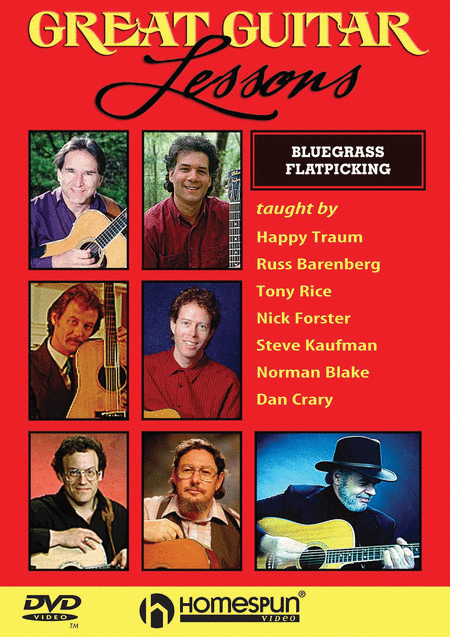 Great Guitar Lessons - Bluegrass Flatpicking