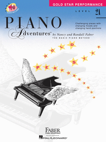 Piano Adventures Level 2A - Gold Star Performance with CD