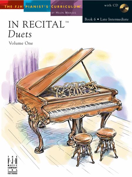 In Recital Duets, Volume One, Book 6 (NFMC)