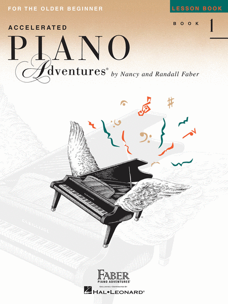 Accelerated Piano Adventures for the Older Beginner - Lesson Book 1, International Edition