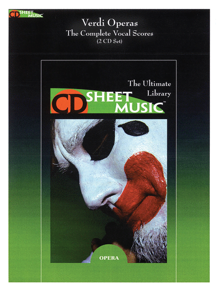 Verdi Operas: The Complete Vocal Scores (Version 2.0)